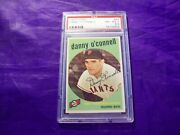 1959 Topps 87 Danny O'connell Psa 8.5
