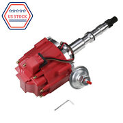 Hei Distributor W/ 65k Coil Red Fits Amc/jeep 290,304,343,360,390,401 1967-1990