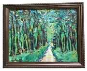 It's A Jungle Out There 20x16 Original Oil Painting On Canvas Art Framed