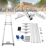Rail Mill Guide System Aluminum Alloy Chainsaw Accessory Garden Wooden Tools Kit