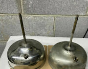 Early Coleman Quick-lite Gas Lantern All Brass Base Vintage Camping Equip Parts
