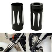 Fork Boot Slider Cover Cow Bell Fit For Harley Trike Touring Models 1980-2013