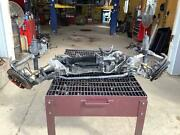 01-04 Chevy Corvette C5 Z06 Front Suspension Dropout W/ Brakes And Steering
