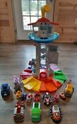 Paw Patrol My Size Lookout Tower All Vehicles Plus Extras Lights Sounds Works