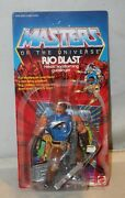 Vintage Masters Of The Universe Motu Rio Blast W/card And Accessories