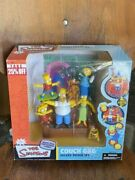 Mcfarlane Toys The Simpsons Deluxe Boxed Set Family Couch Gag Action Figure Set