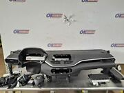 19 2019 Nissan Altima S Oem Front Bag Set With Dash And Seat Belts Black