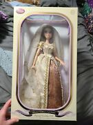 Limited Edition Disney Tangled Rapunzel Wedding Doll New Collector's Item