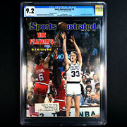 Larry Bird 🔥1st Pro Cover Appearance Sports Illustrated 1980 🔥 Cgc 9.2 - White