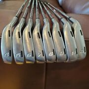 Nike Cci Left Handed Forged Irons 4-aw Dynamic Gold Steel Stiff Flex