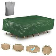 Patio Furniture Cover Waterproof Outdoor Table Cover - Tear 135x70x29