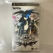 Black Rock Shooter The Game Psp Video Game_p491