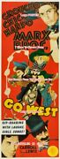 Go West 1940 Marx Bros. Cowboy = Very Large Movie Poster 7 Sizes 42 - 111