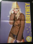 Giant Magazine Poster Aaron Carter And Britney Spears Oop Hot Sexy