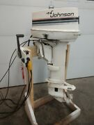 Johnson 20 Hp Ls Remote Electric St Outboard Boat Motor Evinrude Omc 15 18 25 28