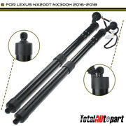 2pcs Rear Tailgate Power Hatch Lift Supports For Lexus Nx300 2018-2021 Nx300h