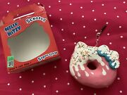 Hello Kitty Phone Accessory Scented Squishy Strawberry Melt Donut Shape