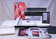 Mint Pfaff Creative Sensation Sewing Quilting And Embroidery Machine Complete