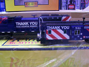 Mth O Gauge Railking Sd70ace Imperial Diesel And Caboose Set With Proto-sound 3.0