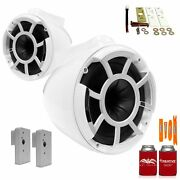 Wet Sounds Rev8w-x 8 White Fixed Tower Speakers2019+ Fcta Adapters