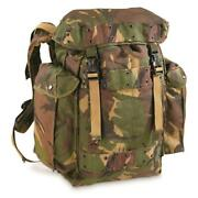 Dutch Military Surplus Dpm Camo 35l Backpack Used