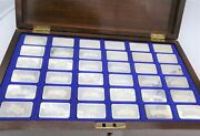 John Pinches The Lord Montagu Collection Of Great Cars Classic 36 Silver Ingots