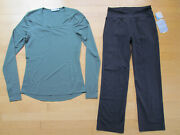 Athleta Two Athletic Workout Clothing Top And Crop Womenand039s Size Xs