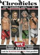 2021 Chronicles Ufc 40ct Factory Sealed Blaster Box 8 Packs - New