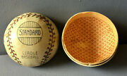 Baseball Paper Candy Container Antique Christmas German Ornament Decoration