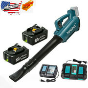 Portable Cordless Leaf Blower Vacuum Dust Cleaner For Makita W/battery+charger