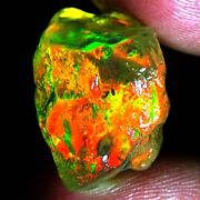33.75ct 100 Natural Excellent Flashy Ethiopian Fire Opal Rough Loose Gemstones