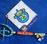 Limited Edition Disney Store Pixar Toy Story Key, 25th Anniversary