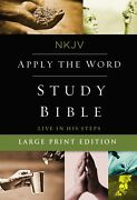 Nkjv Apply The Word Study Bible Full Color/large Print-hardcover