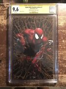 Spider-man 1 Cgc 9.6 Ss Virgin Gold Facsimile Signed By Clayton Crain Not 9.8