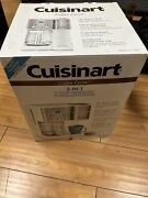 Cuisinart Coffee Center 12-cup Coffee Maker And Single-serve Brewer - White New