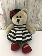 Starbucks Plush Bearista Bear Alice And Olivia 2013 110th Edition 10 By S. Bendet
