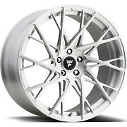 20x10.5 Fittipaldi Fsf24cb Brushed With Gloss Clear-coat Wheel 5x120 40mm