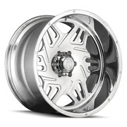 24x14 American Truxx Forged Orion Polished Wheel 8x6.5 -76mm