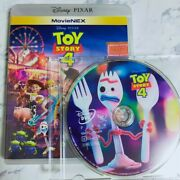 New Unplayed Anonymous Delivery Toy Story 4 Movienex Dvd Only