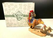 Fitz And Floyd Charming Tails I'm Pulling For You Mouse Camel Nativity 87/255