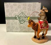 Fitz And Floyd Charming Tails He Will Light The Way Mouse Camel Nativity 87/256