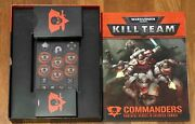 Kill Team Commanders Inkl. Box Cards And Token English Softcover
