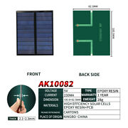 Pet Panel 5v 230ma Mini Solar Cell System Diy For Battery Cell Phone Chargers