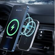 Mag Safe Car Mount Wireless Charger For Iphone 12/12 Pro/12 Mini/12 Pro Max
