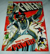 X-men 56 Nm/mt 9.8 White Pages 1969 Marvel - 1st Living Monolith - Neal Adams