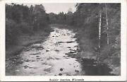 Rppc-boulder Junction Wi A Quiet Creek In The Woods 1948