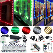 Led Window Store Front Lights Module 10200ft Strips With Power Supply+remote Us