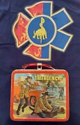 Vintage Emergency Tv Show Lunch Box With Thermos