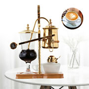 Belgium Luxury Royal Family Coffee Maker Kettle Siphon Sifon Cafe Machine 4 Cups