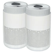 Two Air Purifier Hepa Carbon Filter Pro Ionizer Uv Fresh Home Air Cleaner